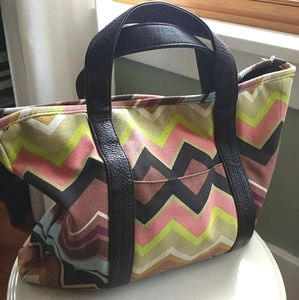 Missoni For Target Zig Zag Pattern Tote Bag